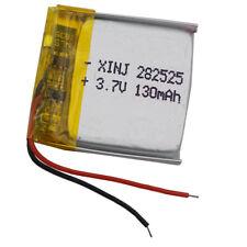 3.7V 130 mAh  Li Polymerbattery Li-po 282525 For Glasses GPS sat Nav smart watch