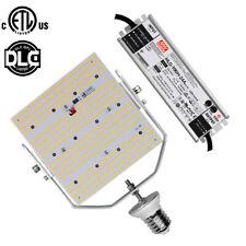 ETL DLC LED shoebox retrofit 100W replace 320Watt MHL/HPS/HID 120volt E39 mogul