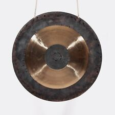 15.5 inch copper gong with hammer Chinese hand forging traditional
