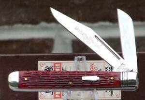 Schatt & Morgan 2007 HORTICULTURIST KNIFE...Keystone Series 17 Timeworn Red Bone