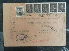 1944 Cogealac Romania Censored Cover To Red Cross Geneva Switzerland