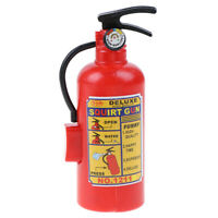 1pc Fire Extinguisher Toy Plastic DIY Water Gun Mini Spray Kids Water Toys DD