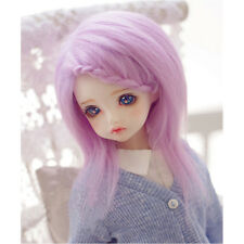 [PF] Lilac/Purple Long Wool Wig/Hair 1/8 PUKIFEE AE LATI BJD Dollfie 14cm