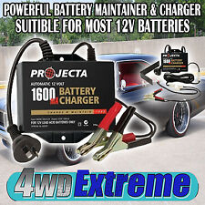 PROJECTA CHARGE & MAINTAIN BATTERY TRICKLE CHARGER 12V 12 MAINTENANCE AC250B CAR
