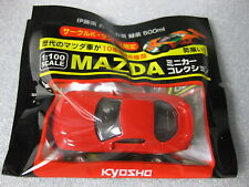 MAZDA RX-7 FD3S Red Kyosho 1:100 Scale Diecast Model Car  .