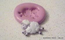 Cute Baby Lamb Sheep Farm Animal Silicone Mould  Sugarcraft,Cake Decorating,Fimo