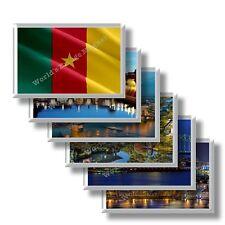 CM - Camerun frigo calamita frigorifero magnete fridge magnet Kühlschrankmagnet