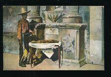 USA Texas San Antonio MEXICAN Candy Seller unused c1920/30s? PPC