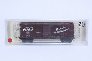 KADEE N SCALE UNION PACIFIC 40' PLUG & SLIDING DOOR BOX CAR NEW IN BOX