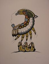 Protector by Lloyd Kakepetum Limited Edition Print Great Canadian Print Company
