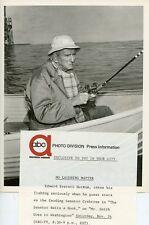 EDWARD EVERETT HORTON FISHING MR SMITH GOES TO WASHINGTON ORIG 1962 ABC TV PHOTO