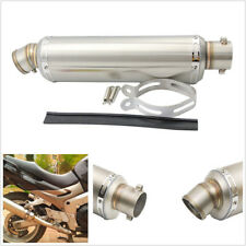 Stainless Steel 38-51mm Motorcycle ATV Welding Exhaust Muffler Pipe 440mm Length