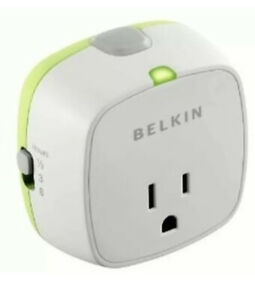 CONSERVE SOCKET AC Electric OUTLET Power TIMER Auto ShutOff switch BELKIN F7C009