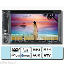 AUTORADIO COMPUTER MONITOR DVD STEREO 7'' TOUCH BLUETOOTH FILM FM MP3 USB SD 66A