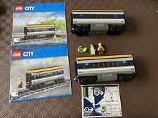 LEGO City Set 60197 Passenger Train Carriages With Instructions & Minifigs!