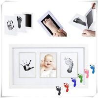 Baby Newborn DIY Imprint Clean Touch Ink Pad Photo Handprint Footprint Kits New