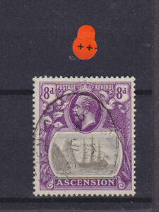 Ascension KGV SG 17 Cat £48.00 Used