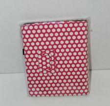NEW Finite iPad 1 folio Case Pink with White polka Dots