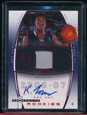 KYLE LOWRY 2006-07 HOT PROSPECT JERSEY AUTO ROOKIE RED HOT#D/50 RAPTORS STUD PG!