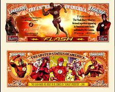 FLASH ! BILLET MILLION DOLLAR US ! Collection Super Heros Comics BD Serie dc