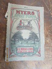 F.E. Myers & Bros Spray Pump Catalog   1913  (SP13)