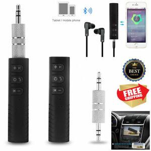 Bluetooth Musik Empfänger Receiver 3,5mm AUX Audio Wireless Adapter Auto KFZ