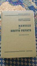 Manuale di Diritto Privato libro di A. Torrente e P. Schlesinger editore Giuffre