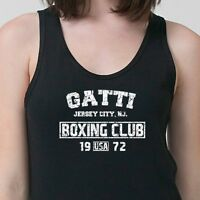 GATTI Boxing Club Vintage Arturo T-shirt MMA Fighting Gym Adult Tank Top