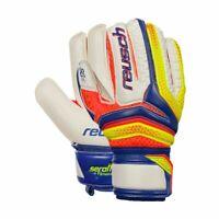 Reusch Football Soccer Mens Kids Goalkeeper GK Gloves Serathor SG Finger Support