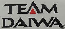 Large team daiwa autocollant/autocollant/pêche/pêche à la ligne/carpe