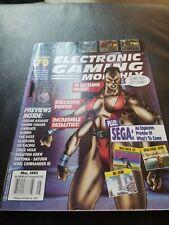 EGM Electronic Gaming Monthly Magazine #70 May 1995 Mortal Kombat 3 Sega Saturn