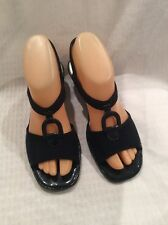 EUC Life Strides Women's Dress Heeled Slingback Sandals Size 6.5M Color Black