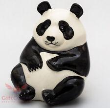 Porcelain Panda figurine handmade