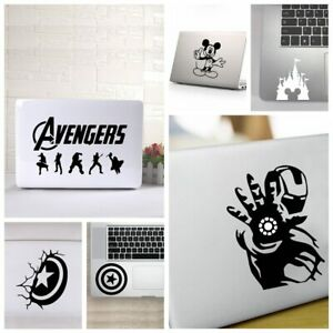 Universal Laptop Cover Sticker Avengers Ironman Cpt.America Mickey Mouse Vinyl