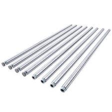 """72"""" Long Wire Shelving Poles - 1"""" Pole Diameter - Chrome Color"""
