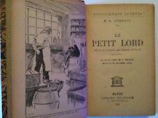 LE PETIT LORD 1947 BURNETT ILLUSTRE PEGOUD JUVENTA