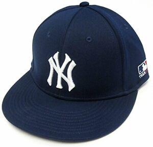 New York Yankees MLB OC Sports Proflex Hat Cap Solid Navy Adult Men's Flex Fit