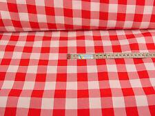 Baumwollstoff   rot  weiß Krao ab 50 cm:818