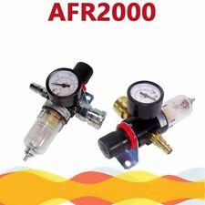 14 Bsp Oil Water Separator Air Filter Regulator Moisture Trap Compressor Gauge