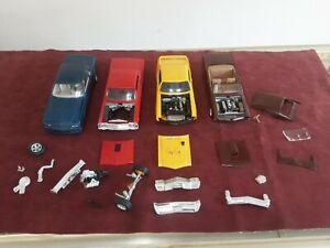 Vintage Model Car Junkyard Lot CHEVY BUICK PONTIAC #C12