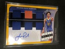 Jordan Poole 2019/20 Absolute Auto Autograph Jersey Rookie 108/149 Warriors TatU
