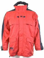 HELLY HANSEN Mens Windbreaker Jacket Size 40 Large Red Nylon  KJ02
