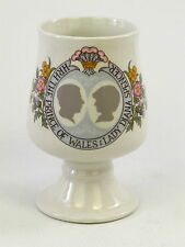 Royal Wedding China Goblet Prince of Wales & Lady Diana Spencer 29th July 1981