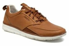 CLARKS MUSTO ORSON CREW SPORTSWEAR NEW WITH BOX TAN LEATHER SIZE 41,5 UK 7,5G