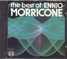 ENNIO MORRICONE - The best of - CD OSTGERMANY 1984 USATO OTTIME CONDIZIONI