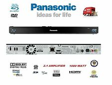 Panasonic 2.1 3D Blu-Ray DVD Home Cinema Player Amplifier Ipod Dock MultiRegion
