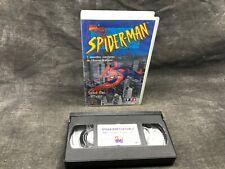 Cassette VHS SPIDER-MAN / Spider-Man s'affaiblît / réf 301017