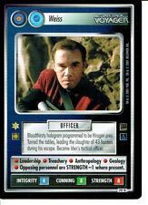 Star Trek CCG Holodeck rechange IMAGE RARE CARTE Weiss (Hirogen)