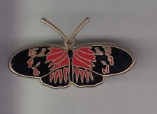RARE PINS PIN'S .. ANIMAL PAPILLON BUTTERFLY ROUGE NOIR OR EMAIL BIG ~CY
