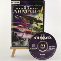Star Trek Armada 2 II PC CD-ROM Case and Disc Only READ Description Display Only